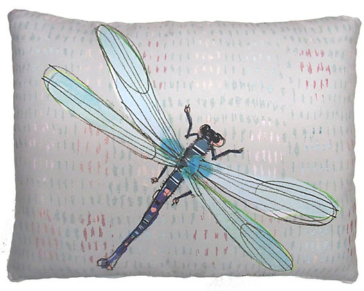 Dragonfly Pillow, RR202, 2 sizes