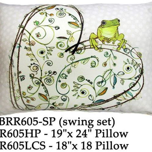 Frog on Heart, RR605, 2 sizes