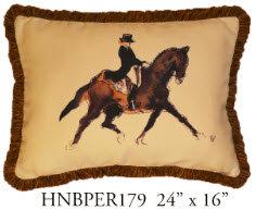 Horse Pillow, 24x16, HNBPER179