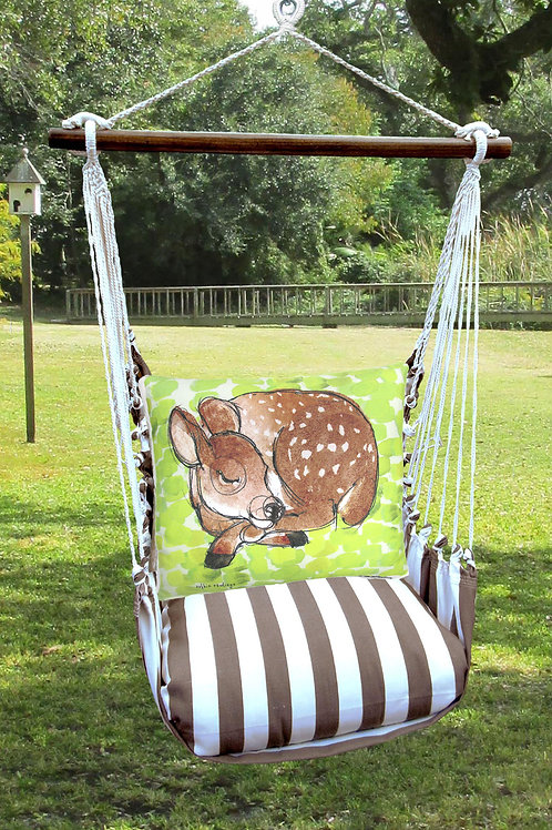 Sleeping Deer Swing Set, SCRR906-SP