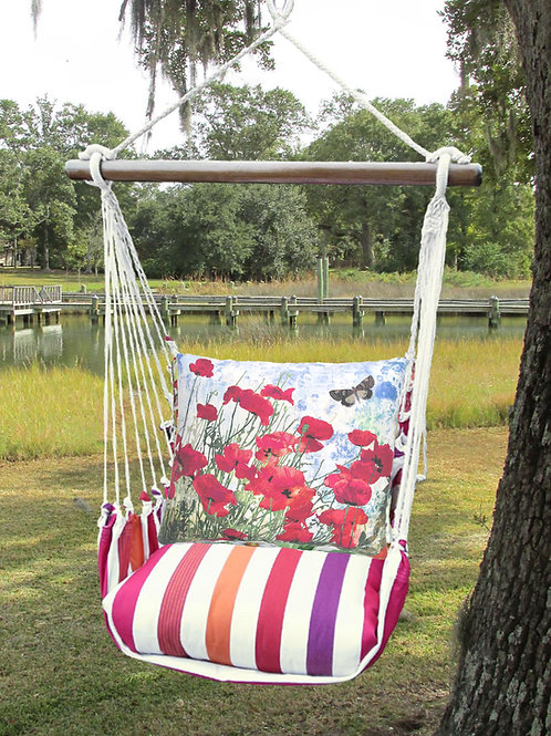 Red Poppies Swing Set, CRTC901-SP