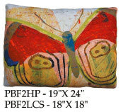 Butterfly Pillow, PBF2, 2 sizes