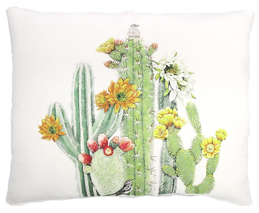 Cactus Pillow, MLT904, 2 sizes available