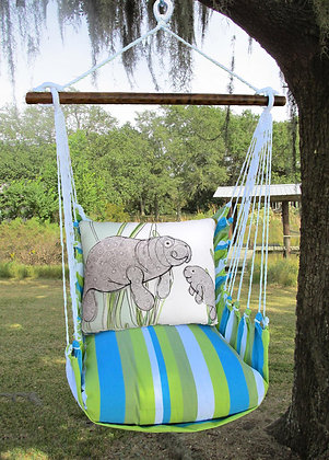 Beach Boulevard Swing Set w/ Manatee,  BBRR613-SP