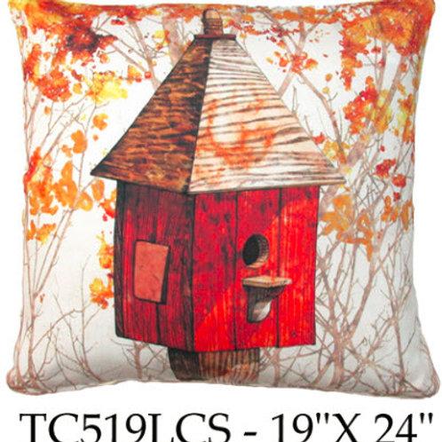 Fall Birdhouse 1, TC519 LCS, 18x18