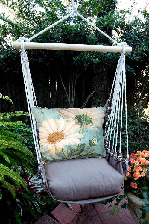 CH Swing Set w/ Daisies Pillow, CHTC509-SP