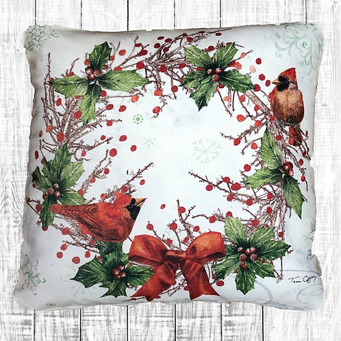 TC904LCS, Woodland Wreath, 18x18 only
