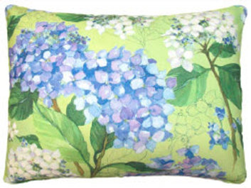 Blue Hydrangea 1 Pillow, SR501, 2 sizes