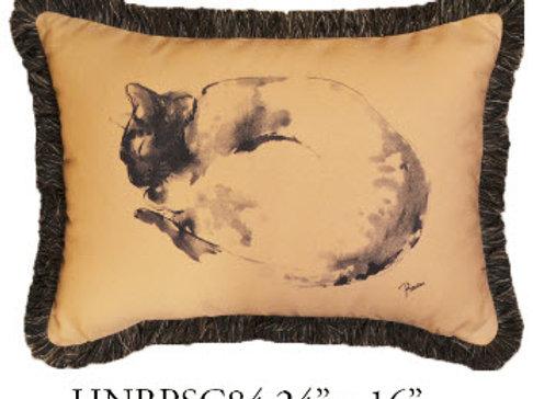 Cat Pillow, 24x16, HNBPSC84