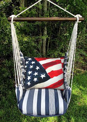 MA Swing Set w/ Flag Pillow, MARR601-SP