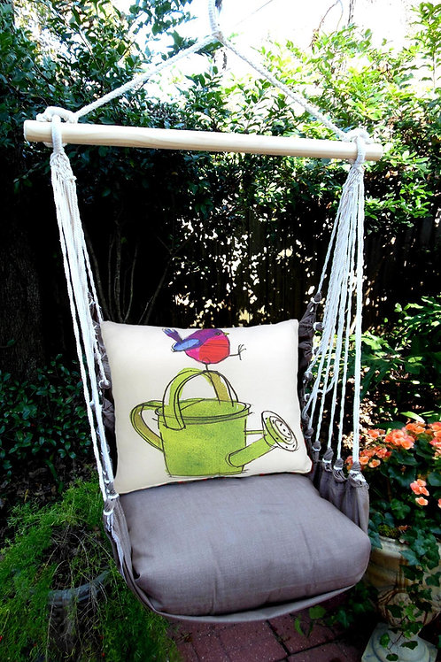 CH Swing Set w/ Watering Can Pillow, CHRR612-SP