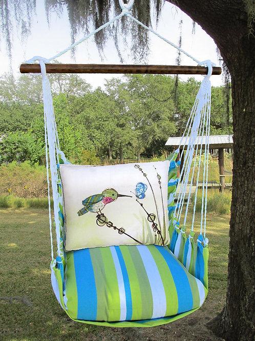 BB Swing Set w/ Hummingbird,  BBRR606-SP