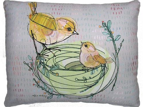 RR201, Bird in Nest, 2 sizes