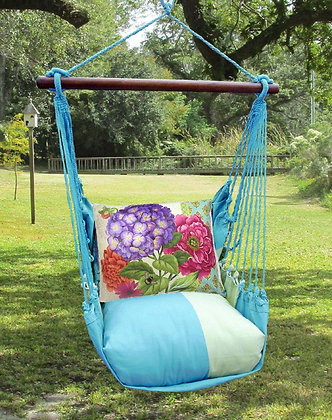 MM Swing Set w/ Hydrangea Pillow, MMSN604-SP