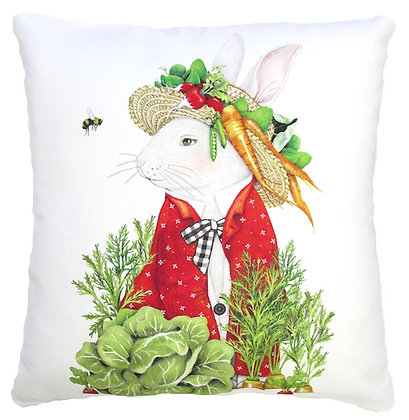 Fancy Bunny Pillow, MLT902LCS, 18x18 only