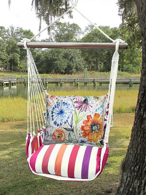 Watercolor Floral Swing Set, CRLS203-SP