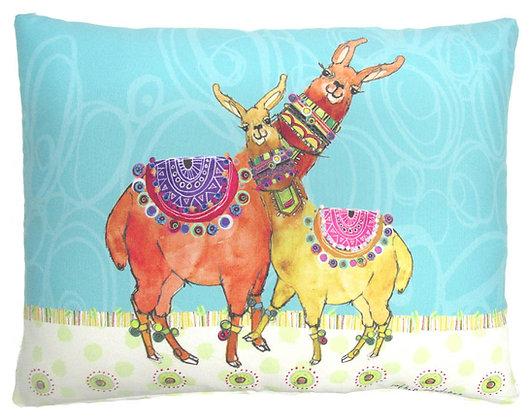 Llama Mama Pillow, RR909, 2 sizes available