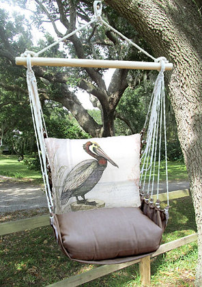 Pelican Pillow with Chocolate Swing Set, CHSW902-SP