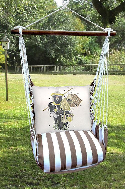 Beekeeper Bear Swing Set, SCMLT202-SP