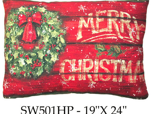 Christmas Wreath, SW501HP, 19x24