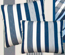 Marina Stripe Fabric Pillow, MA170HP, 19x24
