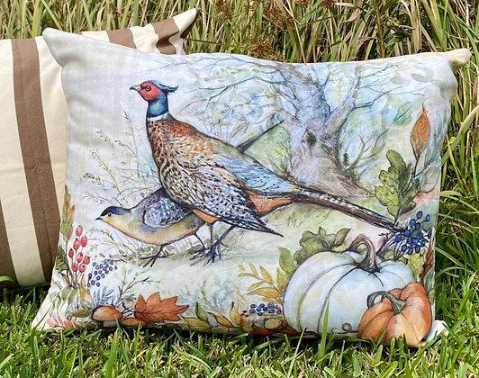 Pheasant Pillow, SW209HP, 19x24