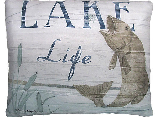 SW203, Lake Life Fish, 2 sizes