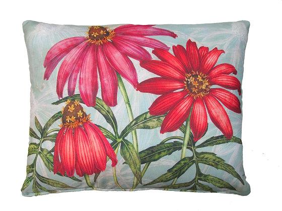 MM Pillow, Zinnias, TC508HP, 19x24