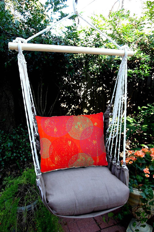 CH Swing Set w/ Red Circles Pillow, CHlH501-SP
