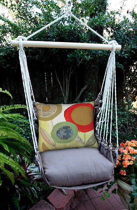 Abstract Flowers Swing Set, CHPCPG5-SP