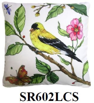 Bird on Branch 2, SR602LCS, 18x18 only