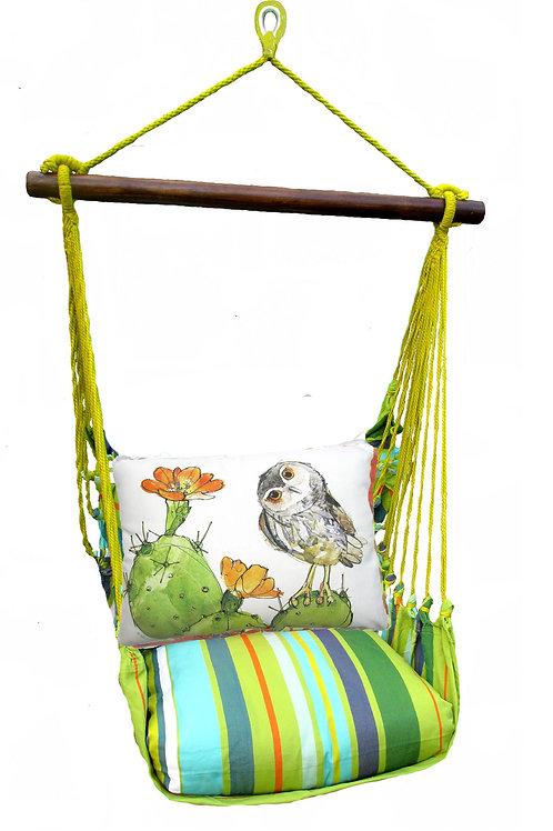 Citrus Swing Set w/ Owl on Cactus, CTRR713-SP