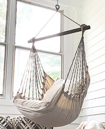 Latte Fabric Swing Set, LT199-SP