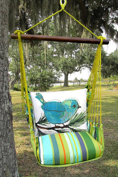 Blue Bird on Branch Swing Set, CTRR908-SP