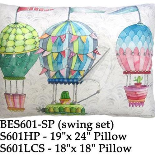 Hot Air Balloons, ES601, 2 sizes