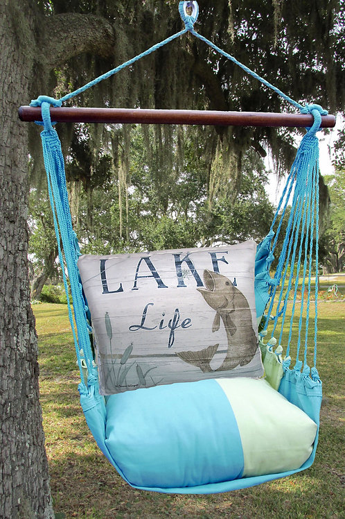 Lake Life with Fish Swing Set, MMSW203-SP