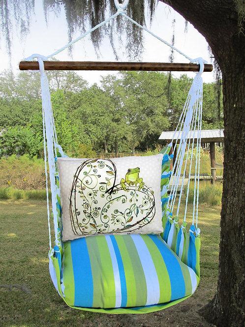 BB Swing Set w/ Heart & Frog,  BBRR605-SP