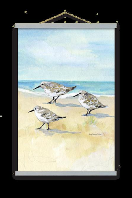 Shorebirds Wall Art, SR806, 2 sizes
