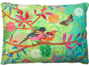 Bright Birds on Branch, PG11HP, 19x24 ONLY