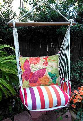 CR Swing Set w/ Butterflies Pillow, CRTC511