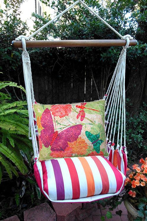 CR Swing Set w/ Butterflies Pillow, CRTC511