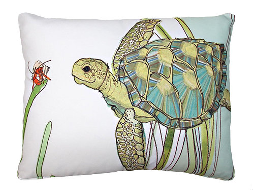MM Pillow, Turtle, RR502LCS, 18x18