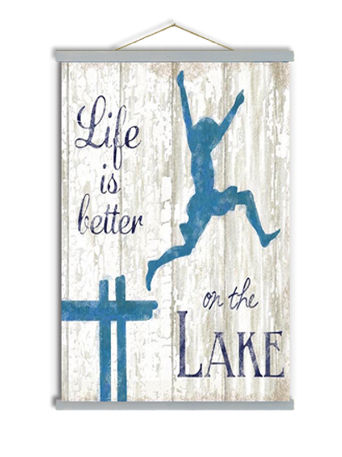 Life is Better on the Lake, SW607, 2 sizes