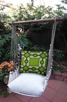 Green Geometric Swing Set, LTG1GLSP