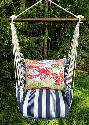 MA Swing Set w/ Lobster Pillow, MAFCLB-SP