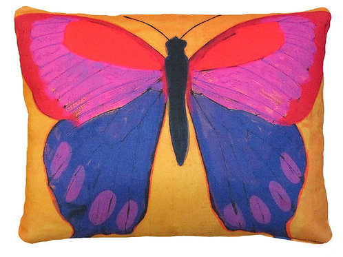 Butterfly with Yellow Background, BBY, 2 sizes