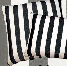 True Black Fabric Pillow, TB258CL, 24x24