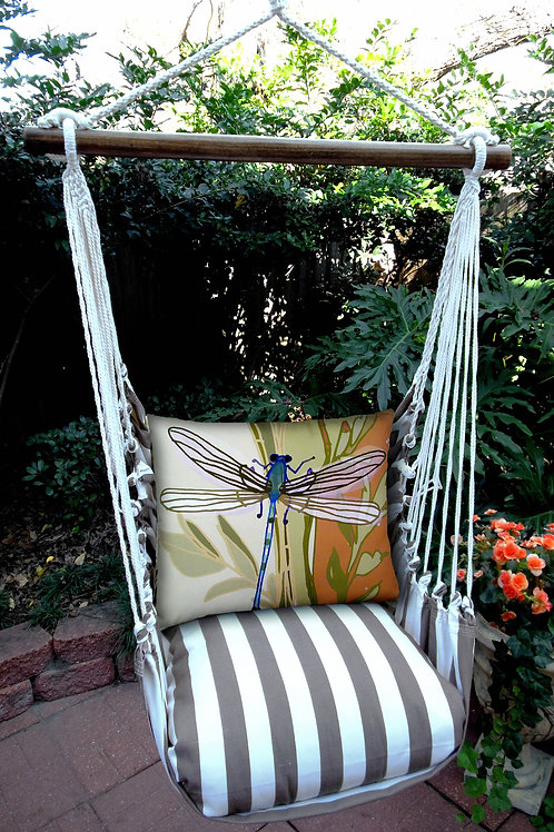 SC Swing Set w/ Dragonfly Pillow, SCRDFL-SP