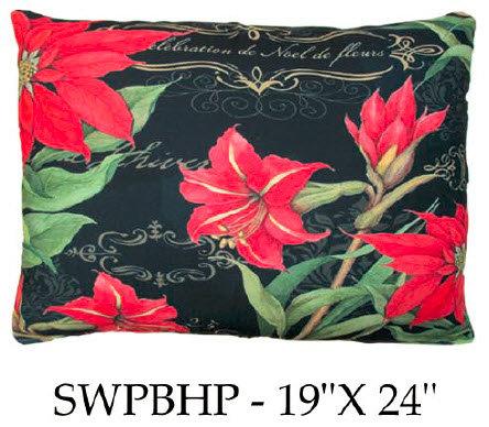 Winter Blessings Poinsettias 2, SWPBHP, 19x24