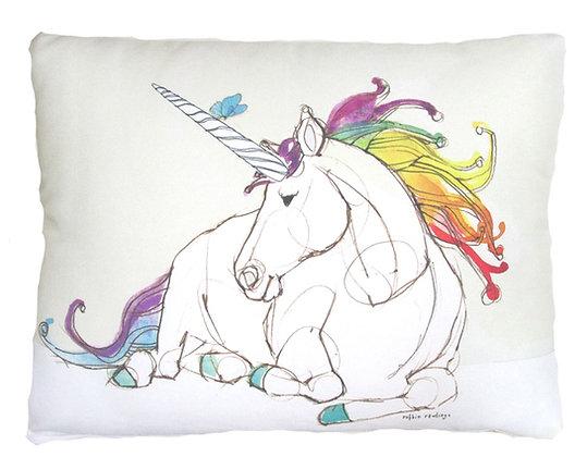 Unicorn Pillow, RR808, 2 sizes